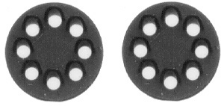 HO scale Position Lights 2 pcs - N&W