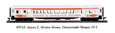 HO HW James E. Strates Shows 12-1 Sleeper Limited Edition