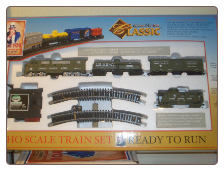HO American Classic US Army Complete Train Set **FREE SHIPPING**