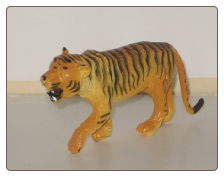 Hand Painted G Scale Animal - Tiger