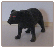 Hand Painted G Scale Animal - Black Bear