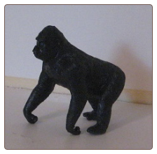 Hand Painted G Scale Animal - Ape