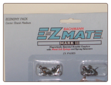 E-Z Mate Knuckle Couplers- Center Shank Medium