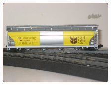 N Scale 55' Cylindrical Hopper CNWX