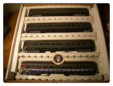 HO IHC Presidental Series 4-Car Train Set - Woodrow Wilson