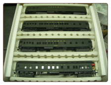 HO IHC Presidental Series 4-Car Train Set - Herbert Hoover