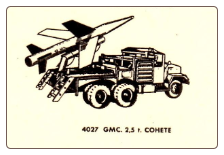 4027 GMC 2.5 Ton Truck with Rocket Launcher