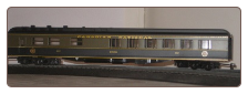 HO HW Canadian National Diner Car