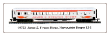 HO HW James E. Strates Shows 8-1-2 Sleeper Limited Edition