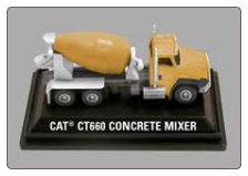 Cat CT660 Concrete Mixer - Construction Mini
