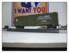 HO Scale U.S. Army Box Car #61244