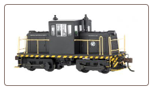 DCC-Equipped GE 45 Ton Switcher