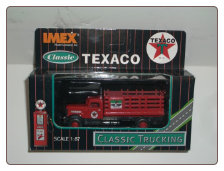 HO Scale Texaco Fire Chief - Peterbilt Stake Truck **FREE SHIPPING**