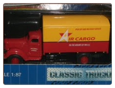 HO Scale International KB-8 Air Cargo Box Truck **FREE SHIPPING**
