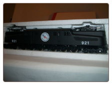 HO scale GG-1 Amtrak Savings Bond DC