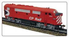 HO F3-A Canadian Pacific Sound & DCC Diesel Locomotive
