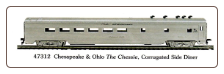 HO CS Chesapeake & Ohio - The Chessie