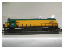 Alco C628 Chicago & Northwestern Diesel Locomotive #6717