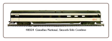 HO SS Canadian National Passenger Cars