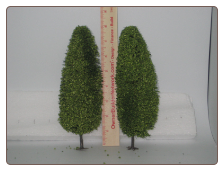 "Green Trees 8"" Tall by Model Power"
