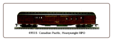 HO HW Canadian Pacific