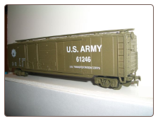 HO Scale U.S. Army Box Car #61246