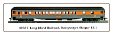 HO HW Long Island Railroad