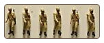US Army Desert Standing Figures