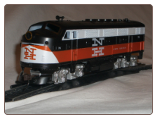HO F3-A New Haven DCC & Sound Diesel Locomotive