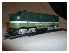 HO F3-A Northern Pacific DCC & Sound Diesel Locomotive