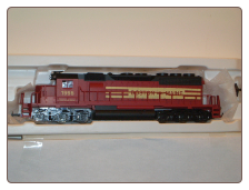 HO EMD SD-40 Boston & Maine Loco#1996 IHC