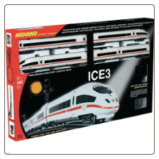 HO Mehano TGV ICE3 Electric Train Set