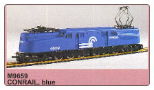 HO GG-1 Conrail Sound & DCC On-Board Locomotive #4800