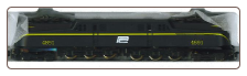 HO Scale GG-1 Penn Central #4891(Black) Sound & DCC On-Board