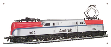 HO scale GG-1 Amtrak - Bloody Nose #902 - DCC On-Board