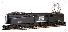 HO Scale GG-1 Penn Central #4809 Sound & DCC On-Board